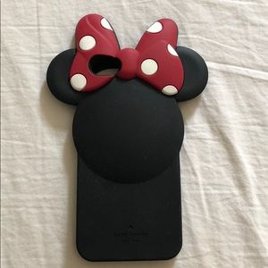 Kate Spade New York for Minnie Mouse iPhone case